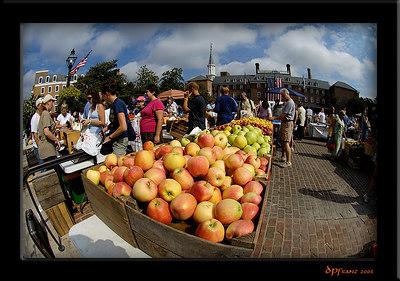 Alexandria, VA - Oldest US Street Market - August 19, 2006
