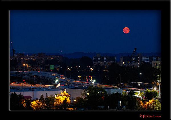 Full Moon, Alexandria VA, Sept. 7, 2006