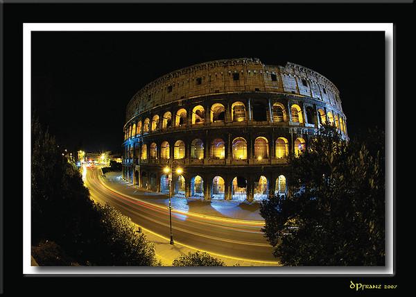Stockholm, Amsterdam, Rome, August 24 to September 4, 2007