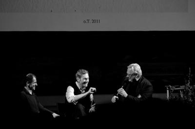 Stephan Baumkötter im Gespräch mit Stefan Schessl und und Johannes Meinhardt über Zeichnen als Erkenntnis