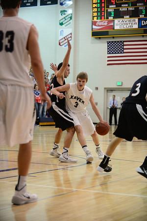Linn-Mar vs. Xavier Boys Basketball 1/24/14