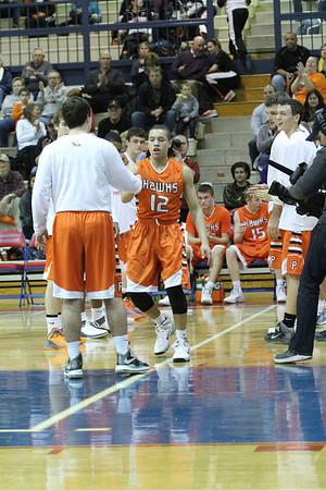 Prairie vs. Washington Boys' Basketball 1/17/14