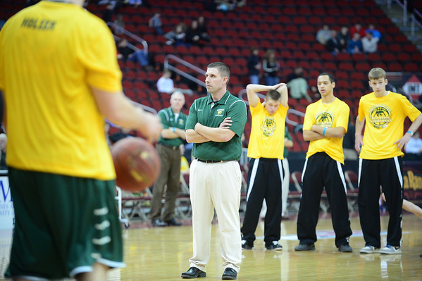 State  Quartile Finals Boys' Basketball Kennedy vs. Sioux City North 3/1/14