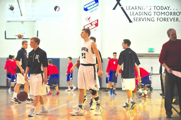 Washington vs. Xavier Boys' Basketball 1/10/14