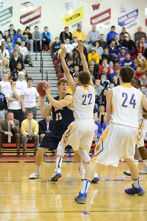 Xavier Boys vs. Dubuque Wahlert Substate Basketball Final 3/3/14