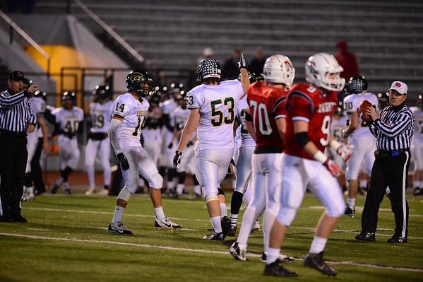 Football Regional Playoff- Kennedy vs.Davenport Assumption 11/4/13