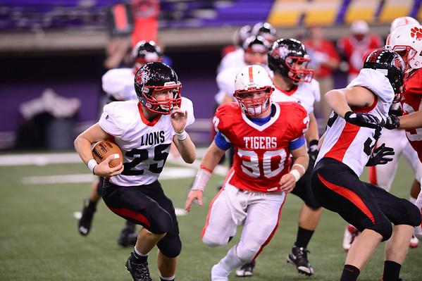 Linn-Mar vs. Cedar Falls Football 9/27/13