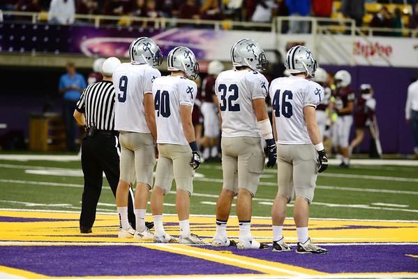 Part 2 State Football Final-Xavier/Dowling 11/21/13