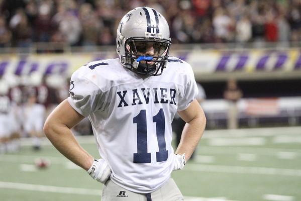 State Football Final - Xavier Post-game shots 11/21/13