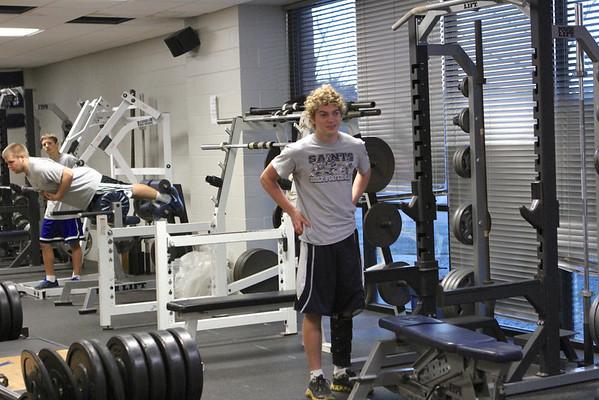 Xavier Weight Room photos 11/12/13
