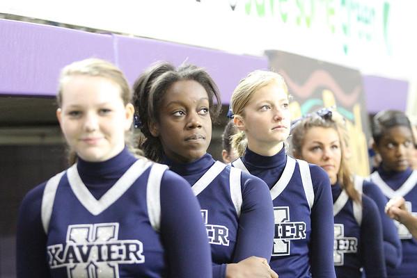 Xavier at State Football Semi-final  11/15/13