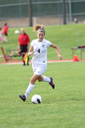Girls Soccer Regional Final-Xavier vs. Pella 6/10/14