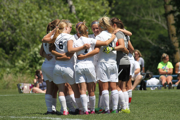 Xavier Day 1 Game Photos Girls state soccer tournament 6/12/14