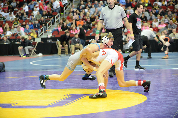 3A Quarterfinals and 2nd Round Consolation Matches 2/21/14