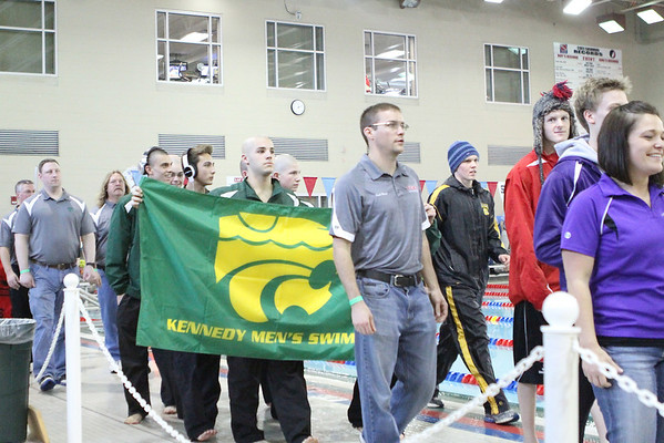 Kennedy at 2014 State Swim Meet