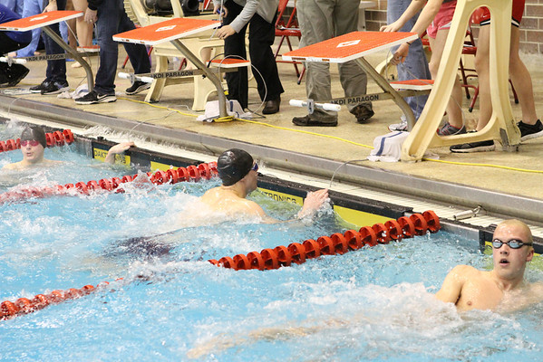 MVC Boys Swimming Championships-swimmers from unidentified schools-1/25/14