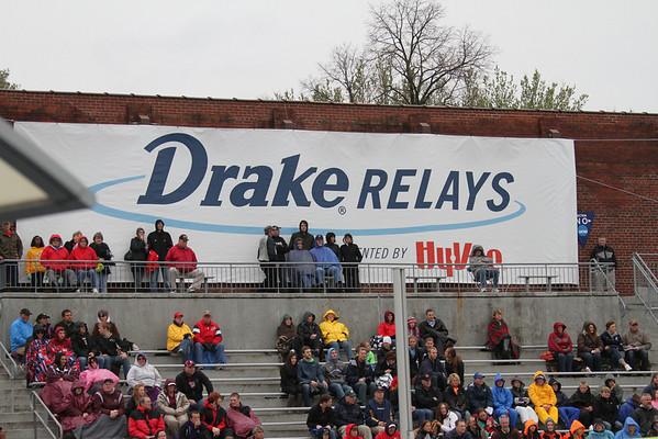 Drake Relays- Girls- Day  1    4/24/14