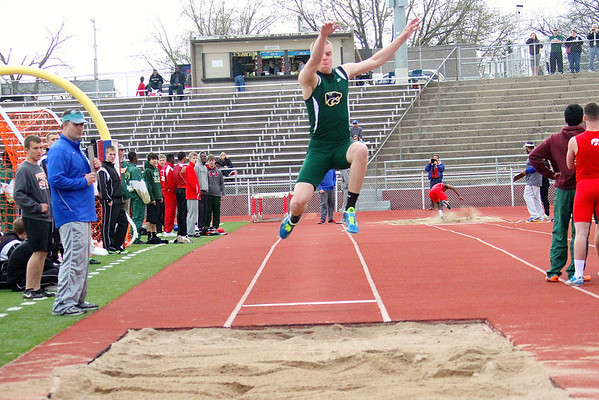 Kennedey at the Wilkinson Relays 5/1/14