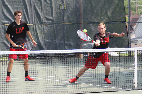 State Tennis Tournament-Boys Doubles semi-finals and finals-5/31/14