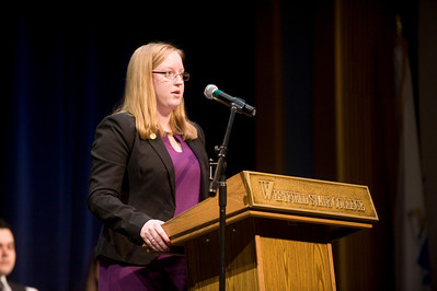 The Feb 2013 State of the Campus address by SGA President Stephanie Close