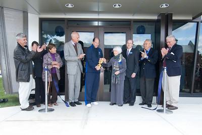 Banacos Center Dedication & Ribbon Cutting Ceremony, Oct. 2010