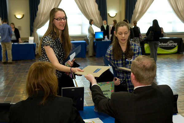 Career Services Job Fair March 2013