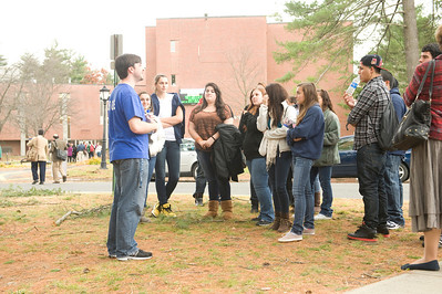 Local high school seniors visit Westfield State University as part of the Discover Westfield program