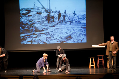 """Enchanted Circle Theater presents """"Between The Canals"""" at Dever State at Westfield State University"""