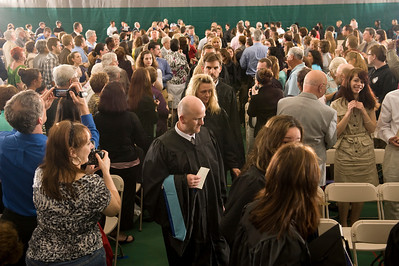 2011 Graduate Commencement at Westfield State University