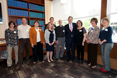 Massachusetts Education Secretary Paul Reville visits Westfield State University to speak to teachers in the Westfield Professional Development School