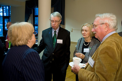 Peter Serkin Reception at Westfield State University