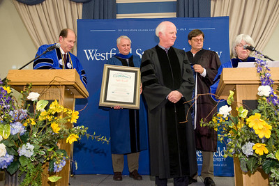 Taylor Branch receives honorary degree from WSU