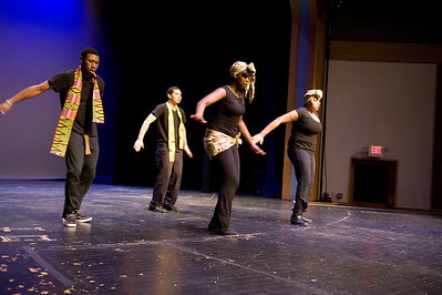 The Multicultural Fashion and Variety Show on Dever Stage at Westfield State University