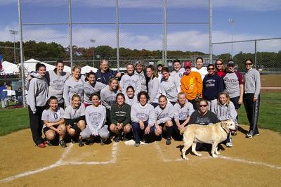Alumni Softball at Homecoming 2008