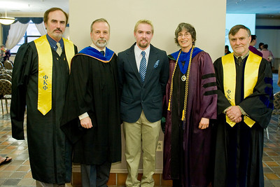 Phi Kappa Phi Induction 2013 ceremony at Westfield State University