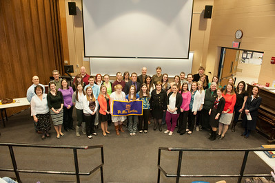 2013 Pi Mu Epsilon Induction at Westfield State University