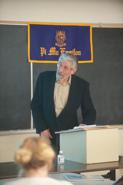 2013 Pi Mu Epsilon Induction at Westfield State University