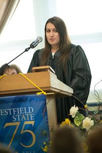 Senior Convocation at Westfield State University, September 2013