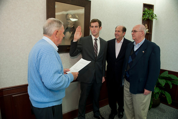 Stone Koury Swearing In