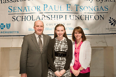 2012 Tsongas Scholarship Luncheon at the State House in Boston.