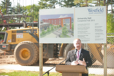 University Hall Groundbreaking & Donor Dinner at Westfield State University