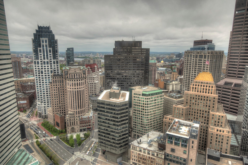 View from the Federal Reserve Building, Boston