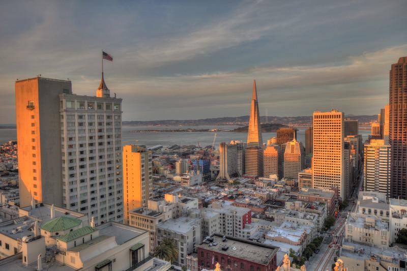 Taken from the Mark Hopkins Hotel, San Francisco, CA. Canon TS-E 24mm f/3.5L II Tilt-Shift