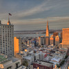 Taken from the Mark Hopkins Hotel, San Francisco, CA. Canon TS-E 24mm f/3.5L II Tilt-Shift