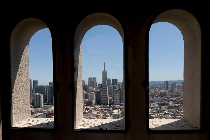 Coit Tower, San Francisco, CA. Canon TS-E 24mm f/3.5L II Tilt-Shift