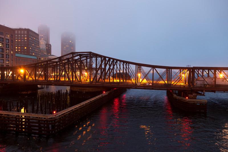 North Avenue Bridge. Taken from Seaport Blvd, South Boston