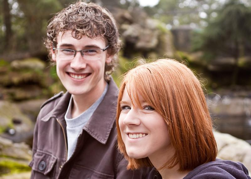 Justin & Tali at the Oregon Coast Aquarium