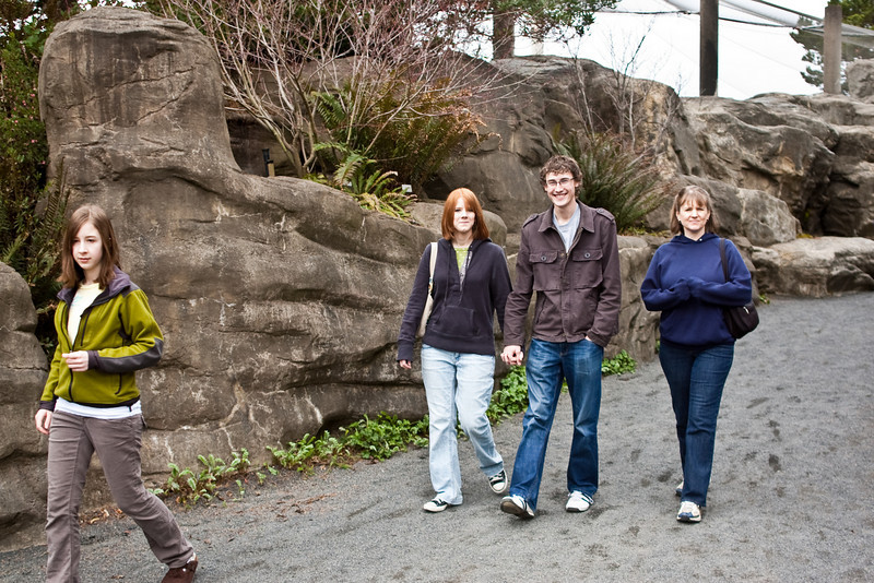 The crew at the Oregon Coast Aquarium