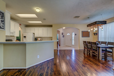 Kitchen, Dining, & Entry