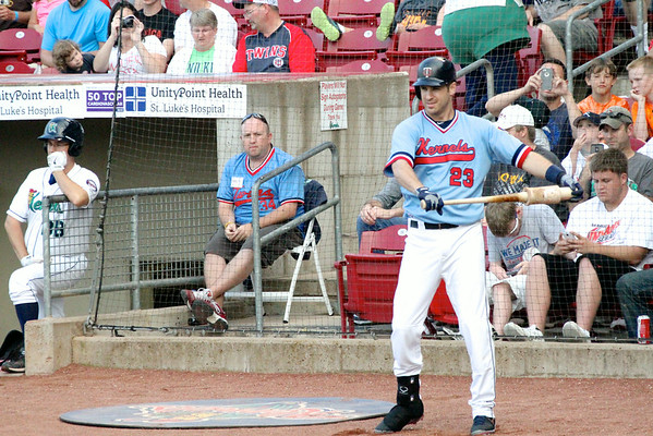 Kernels vs. Timber Rattlers +Mauer and Nolasco 8/5/14